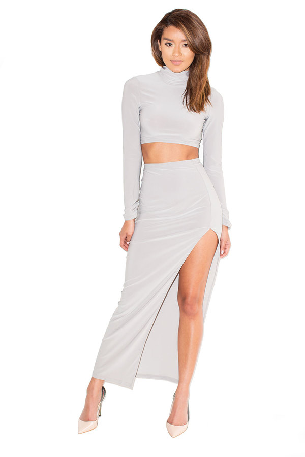 Mr Grey High Neck Maxi Two Piece