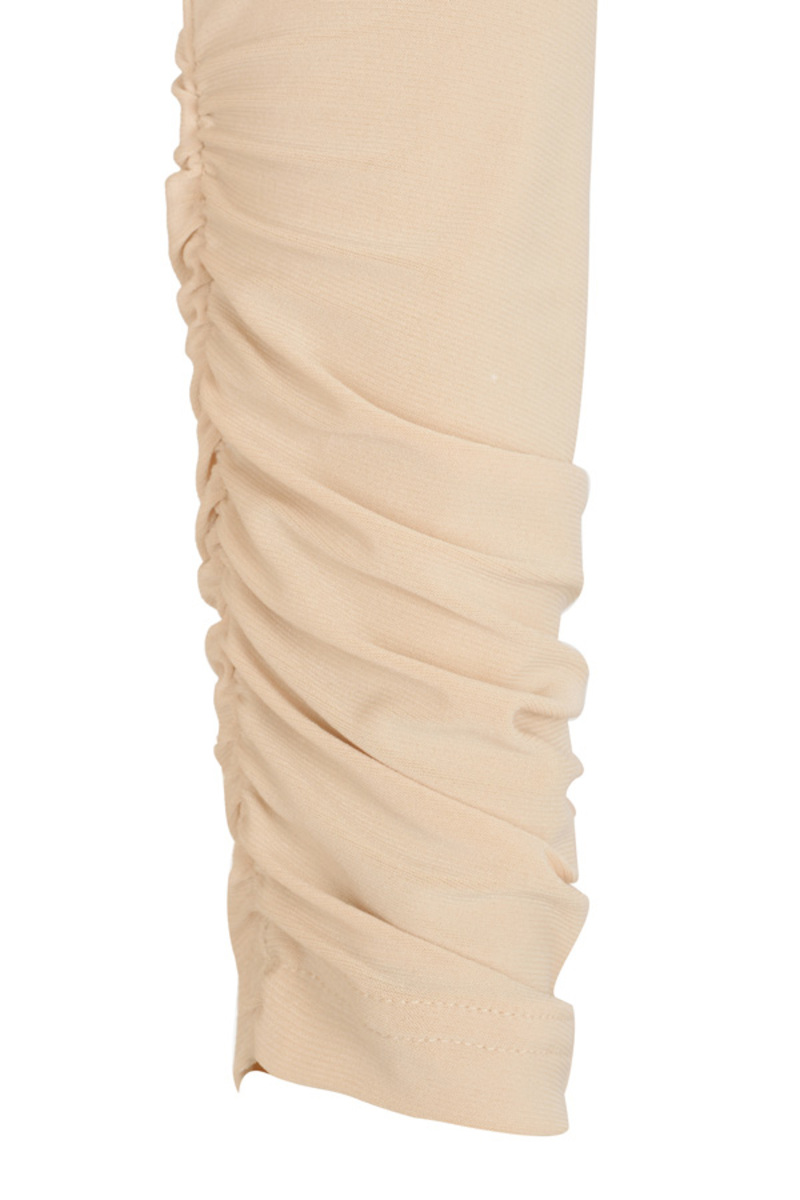 the capture dress in nude