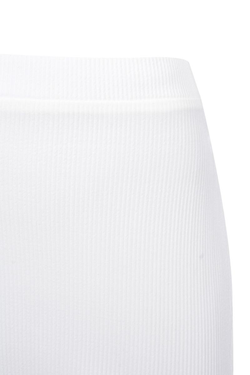 lucky shot dress in white