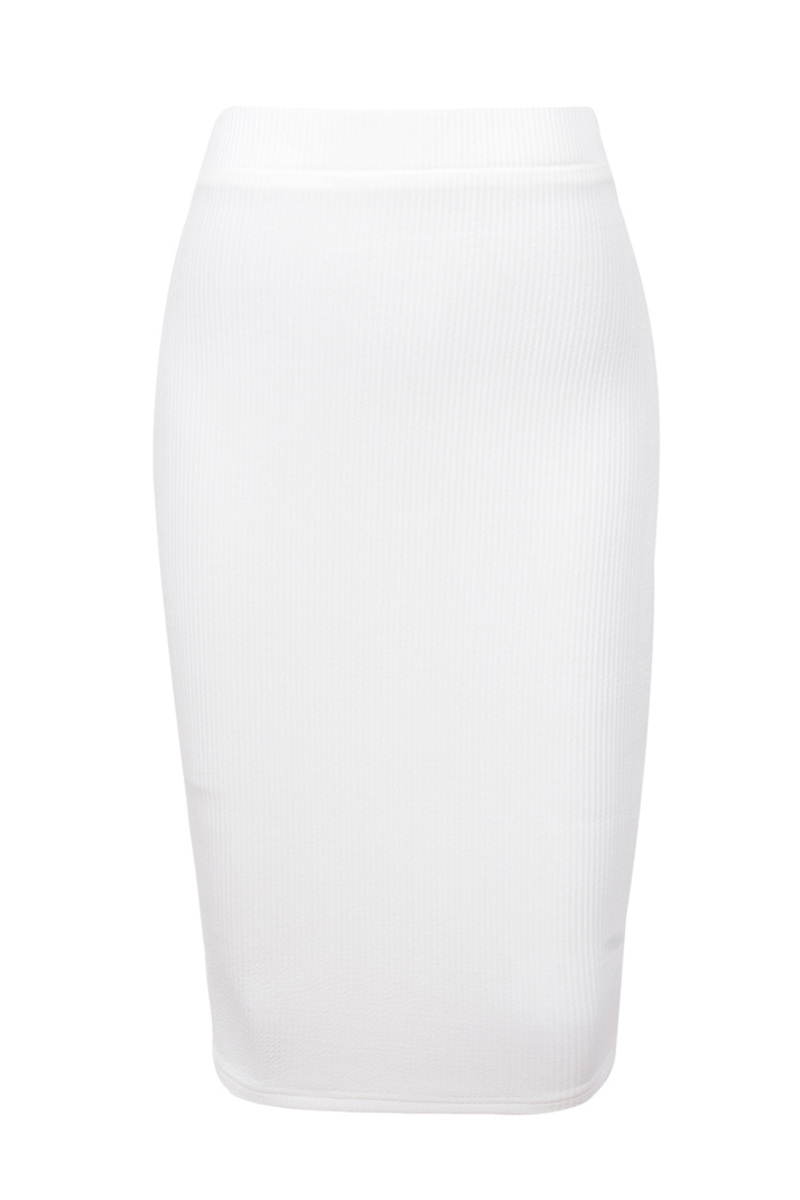 the lucky shot dress in white