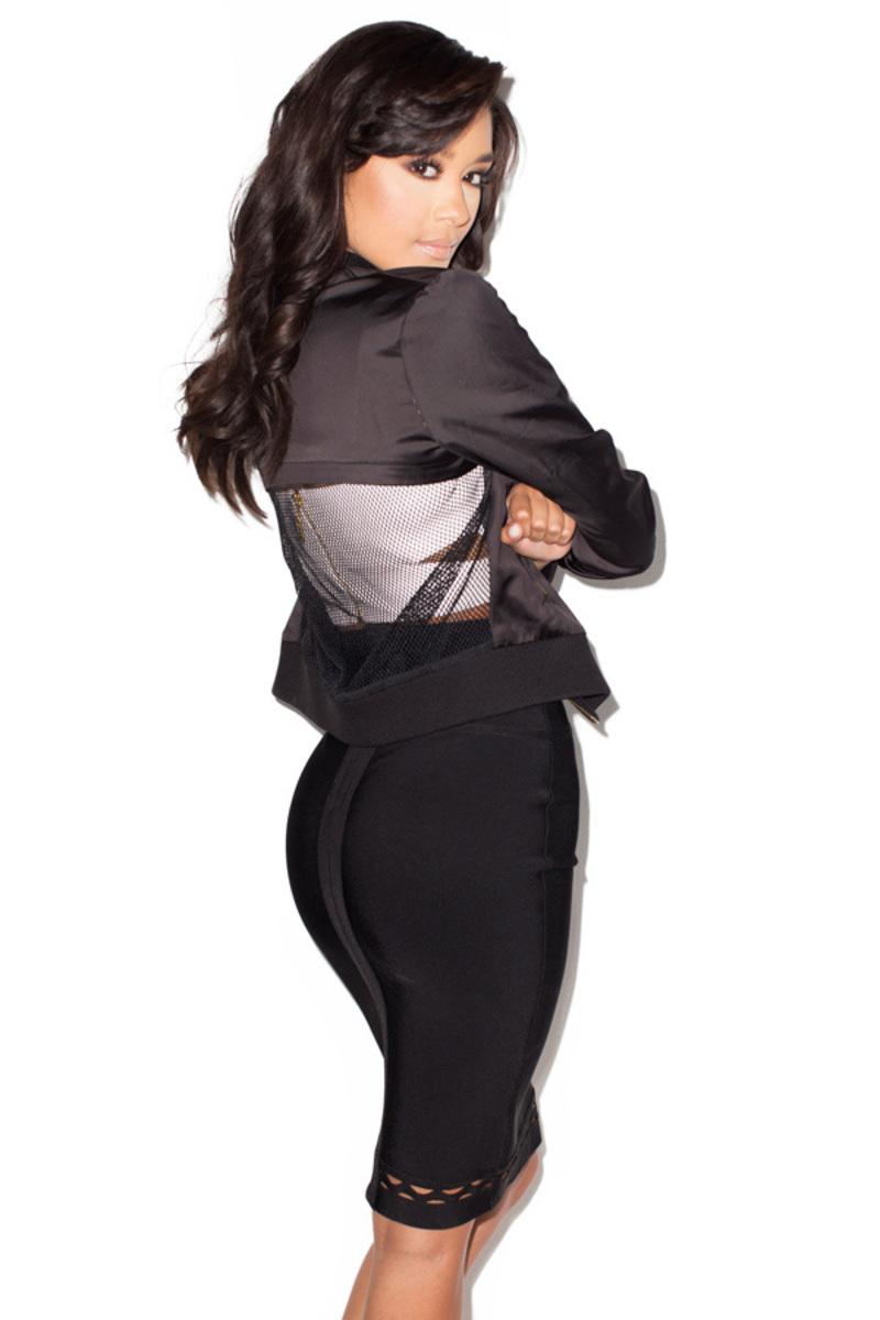 black mambo skirt