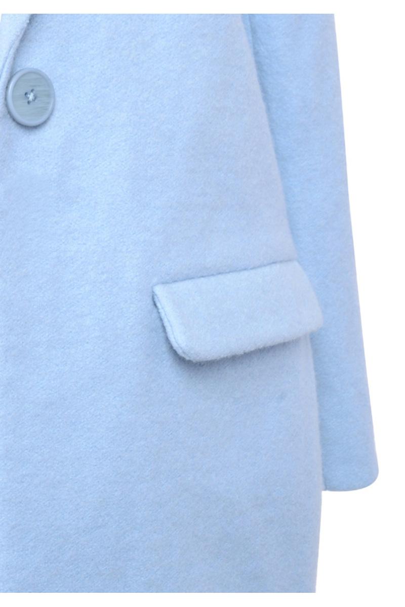 the mishka coat in blue