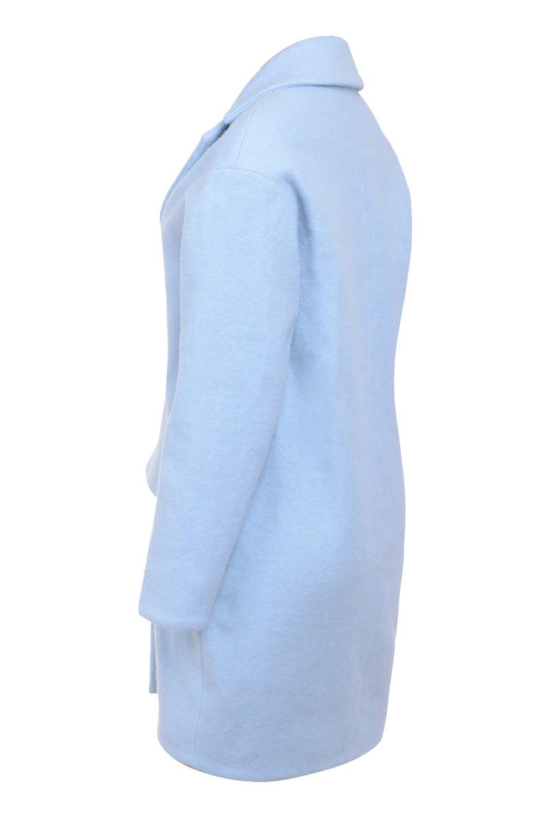 mishka coat in blue