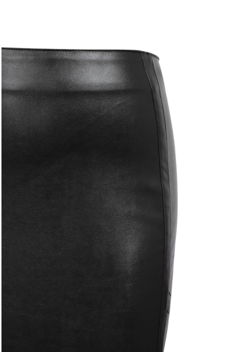 black persuasion two piece dress