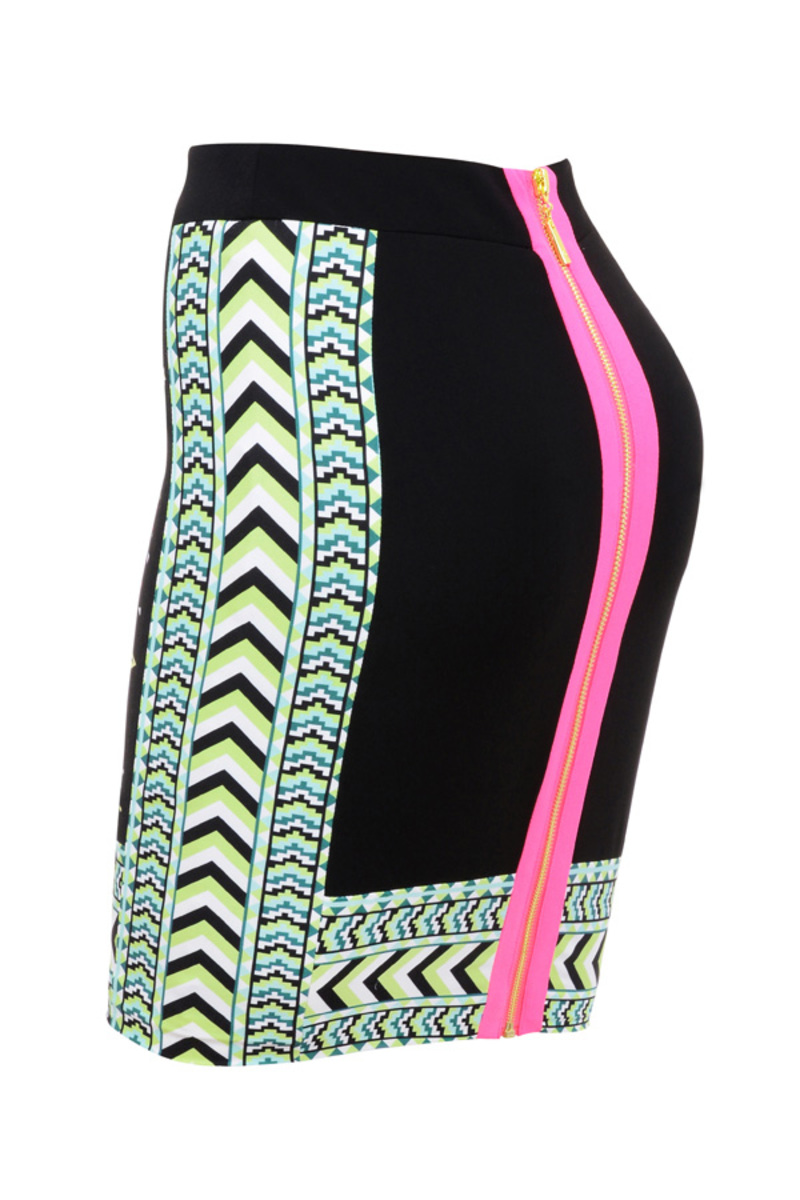 skirt in multicolor