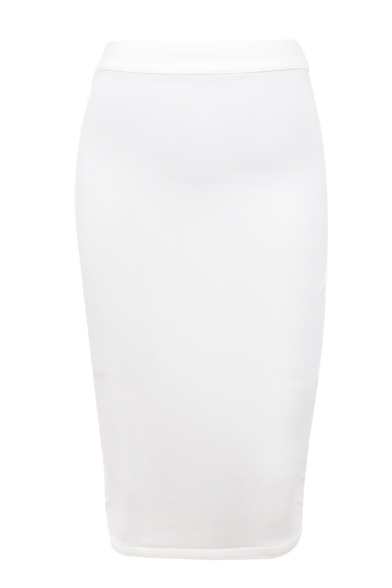 torrent skirt in white