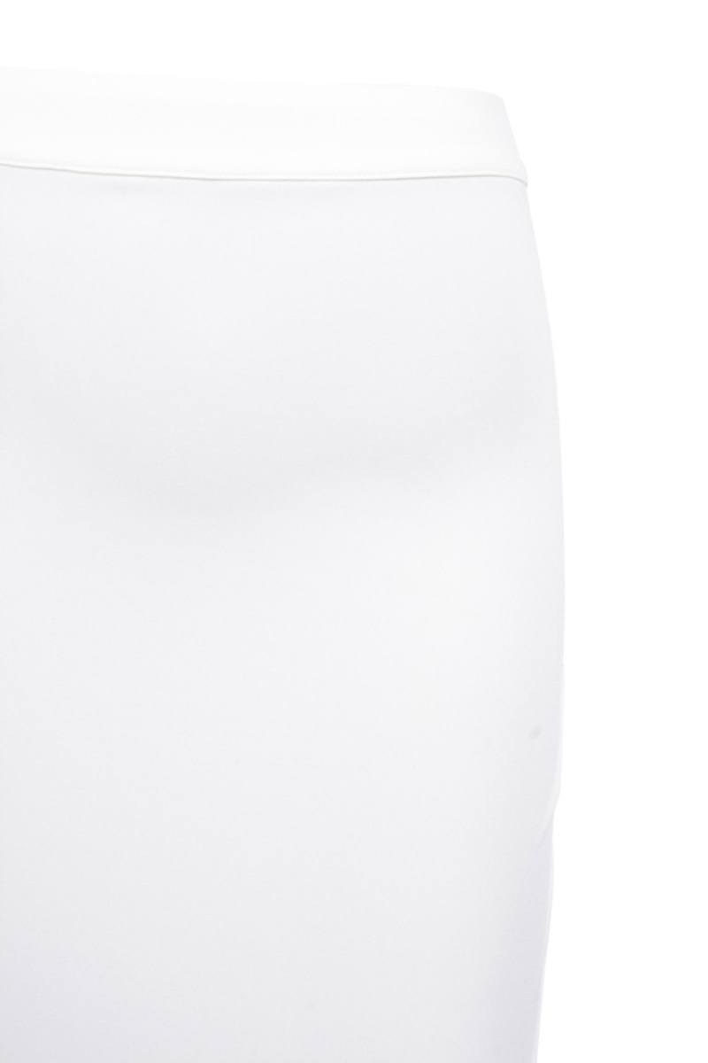 white torrent skirt