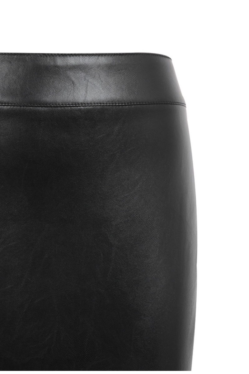voyeur black pencil skirt