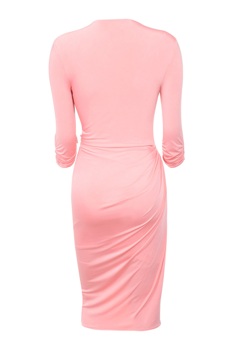 bodycon dress in pink