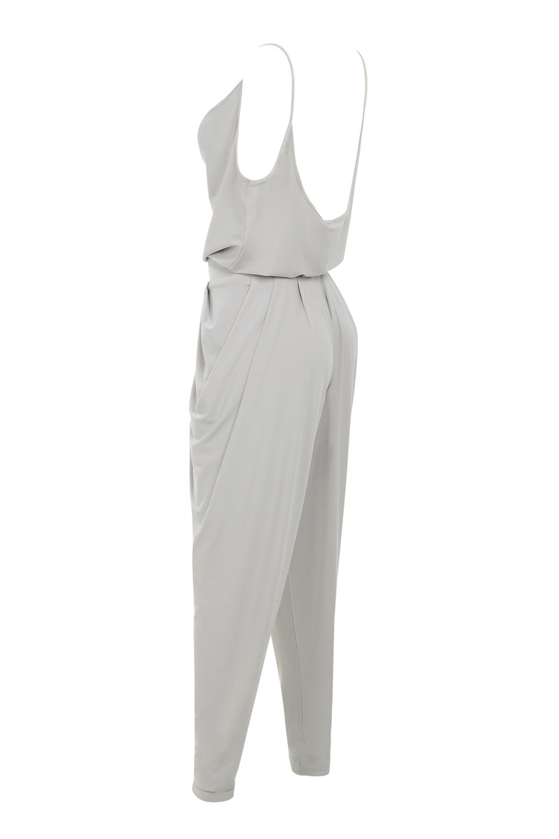 farrah grey jumpsuit