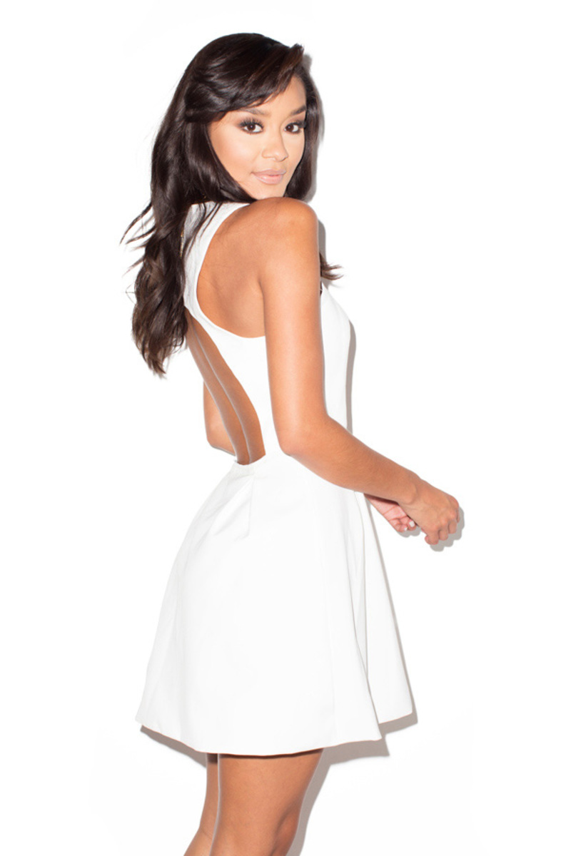 white out white dress