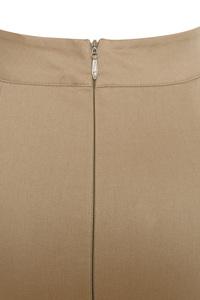 brown vibes skirt