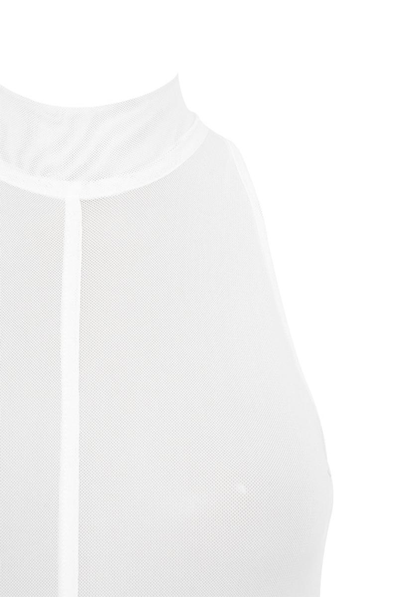 white bravado bodysuit
