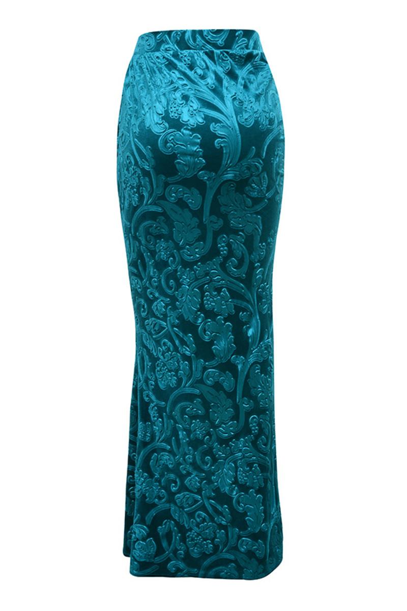 divine skirt in blue