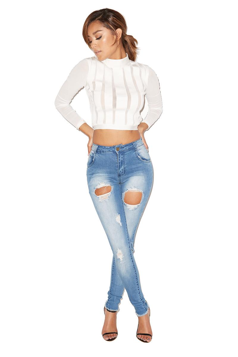 Tussle Destroyed Denim Jeans