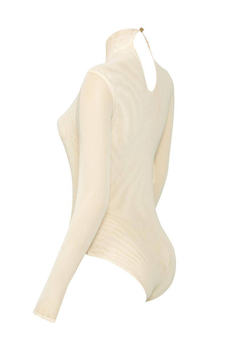 moulin bodysuit in nude