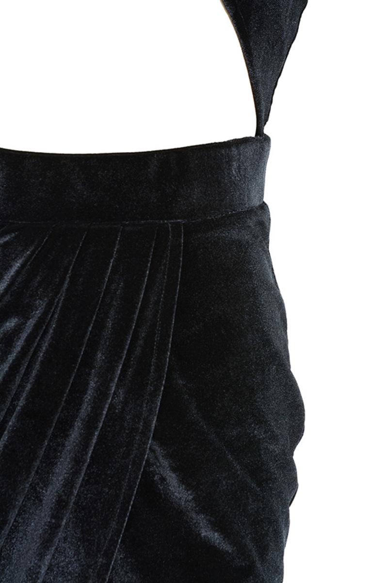 black pussy galore dress