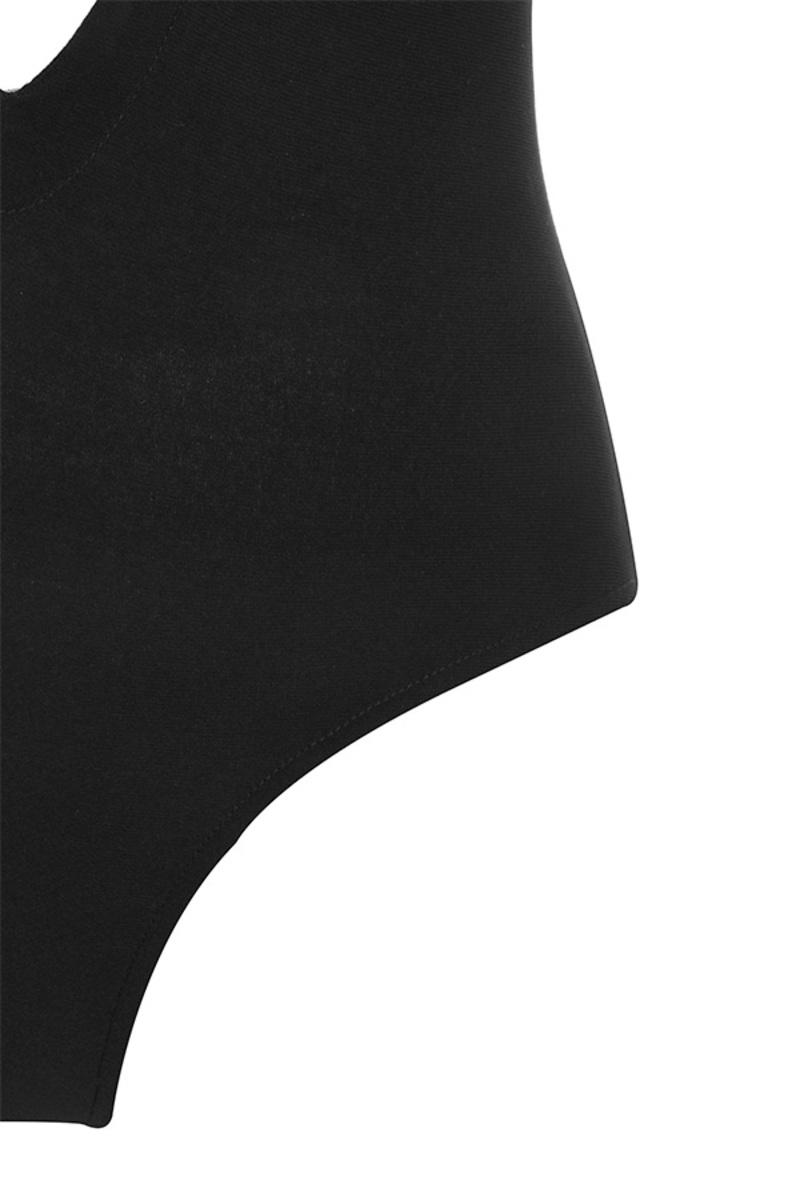 black slither bodysuit
