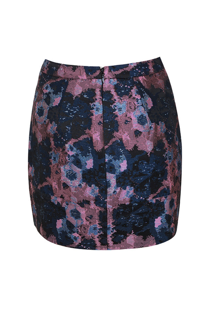 bloom skirt in blue