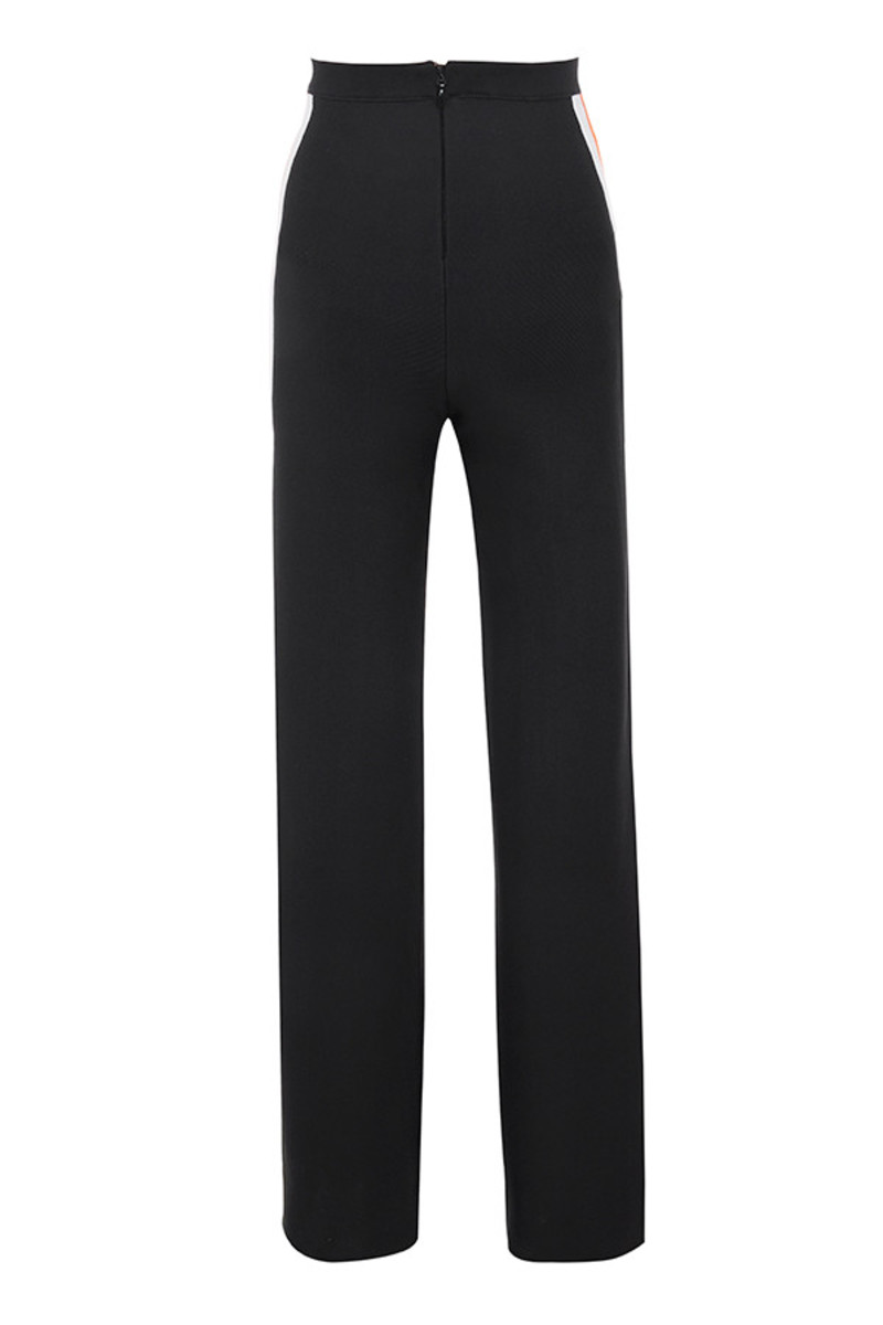 craze trousers in black
