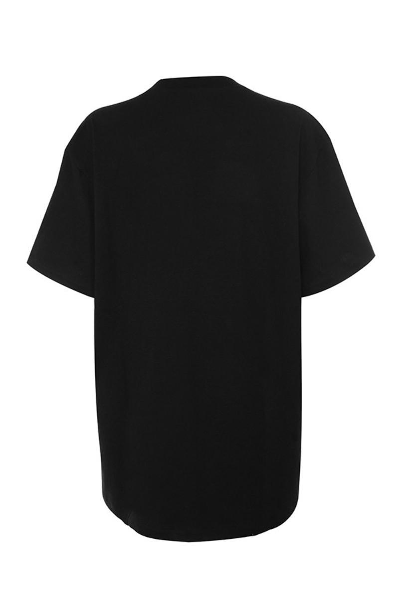 eyeful top in black