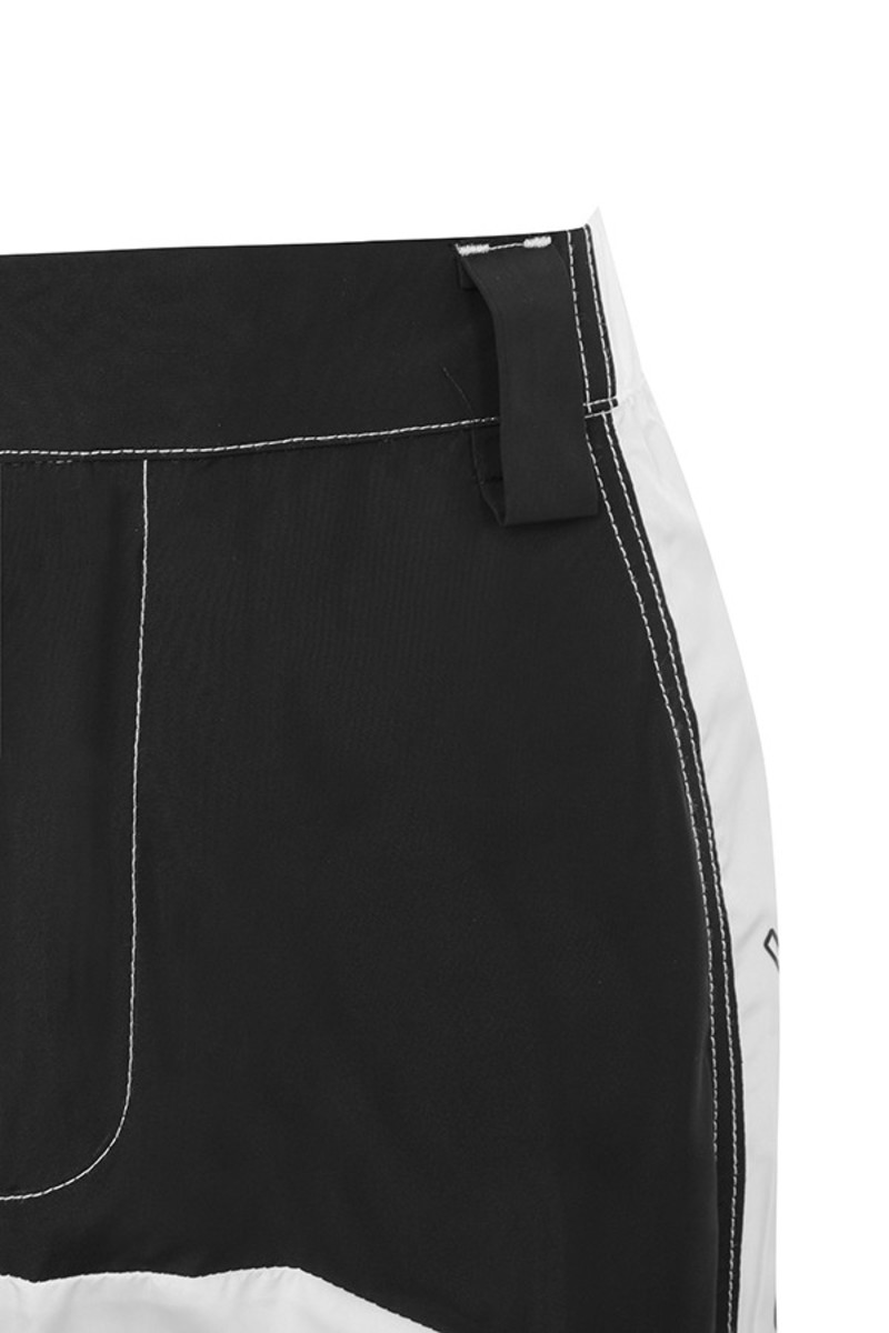 black friction pants
