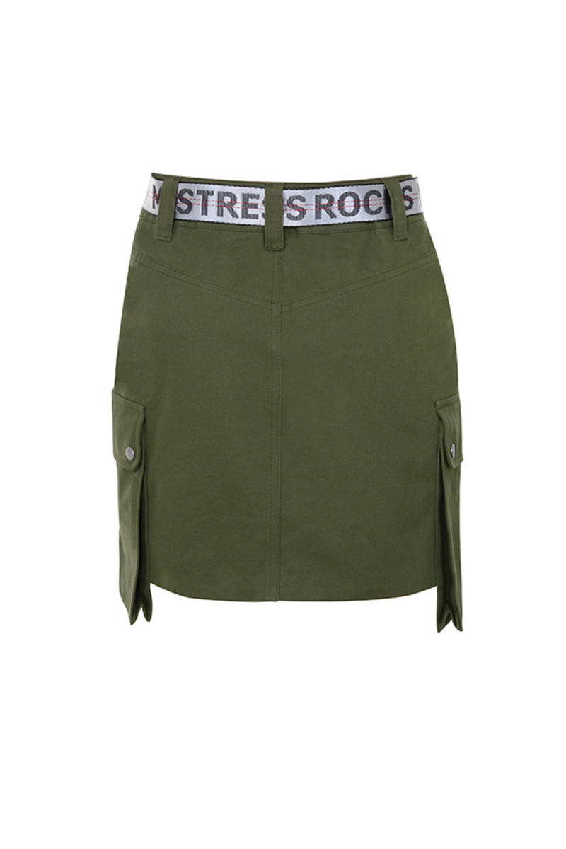luscious skirt in green