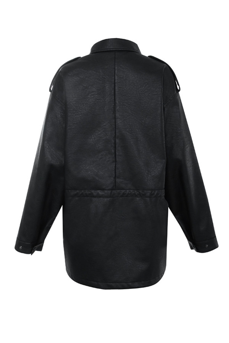 nightstar jacket in black
