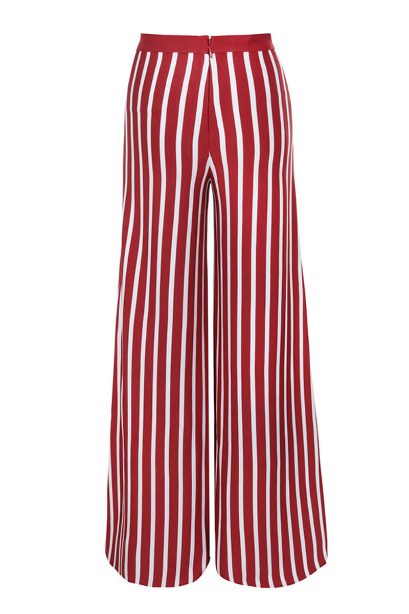 one love trousers in red