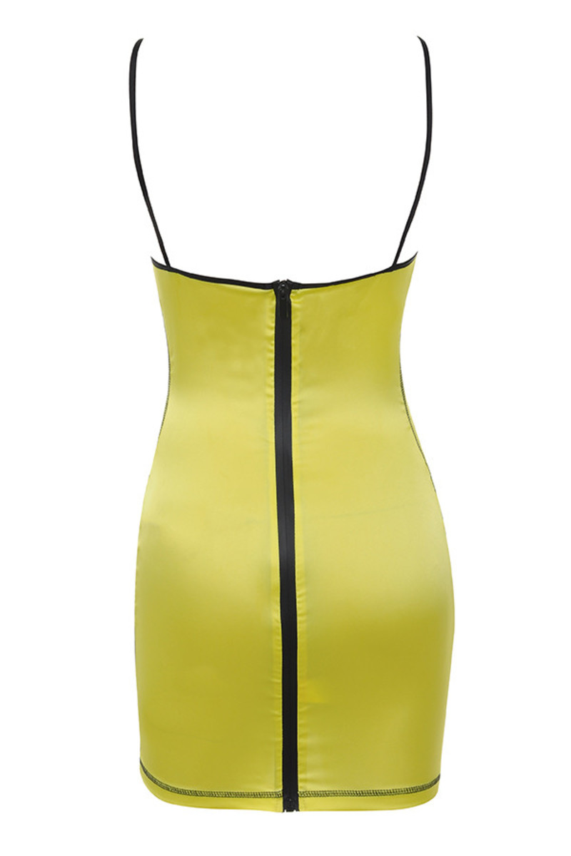 pursuit dress in yellow