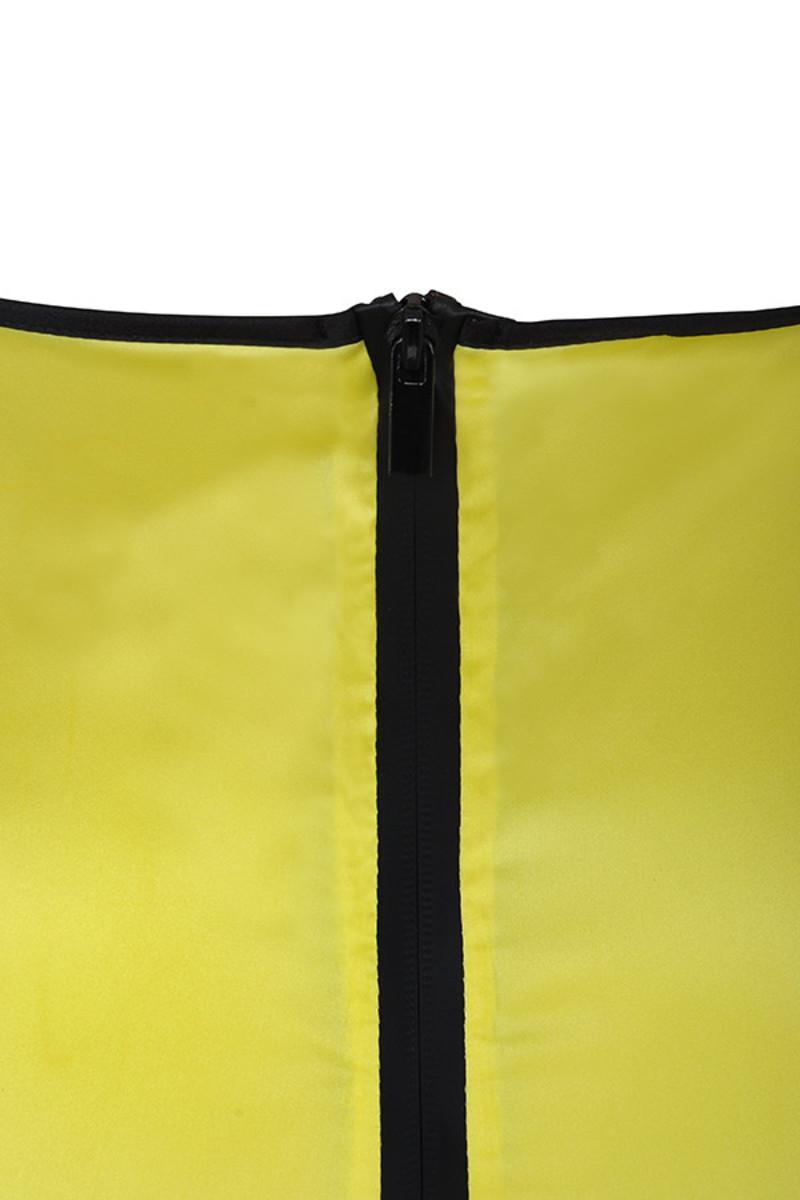 yellow pursuit dress