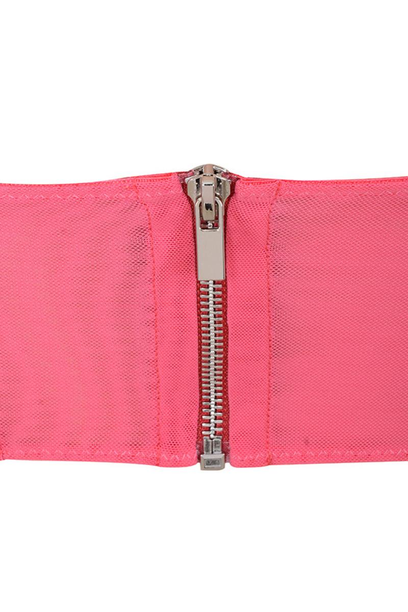 pink rocket top