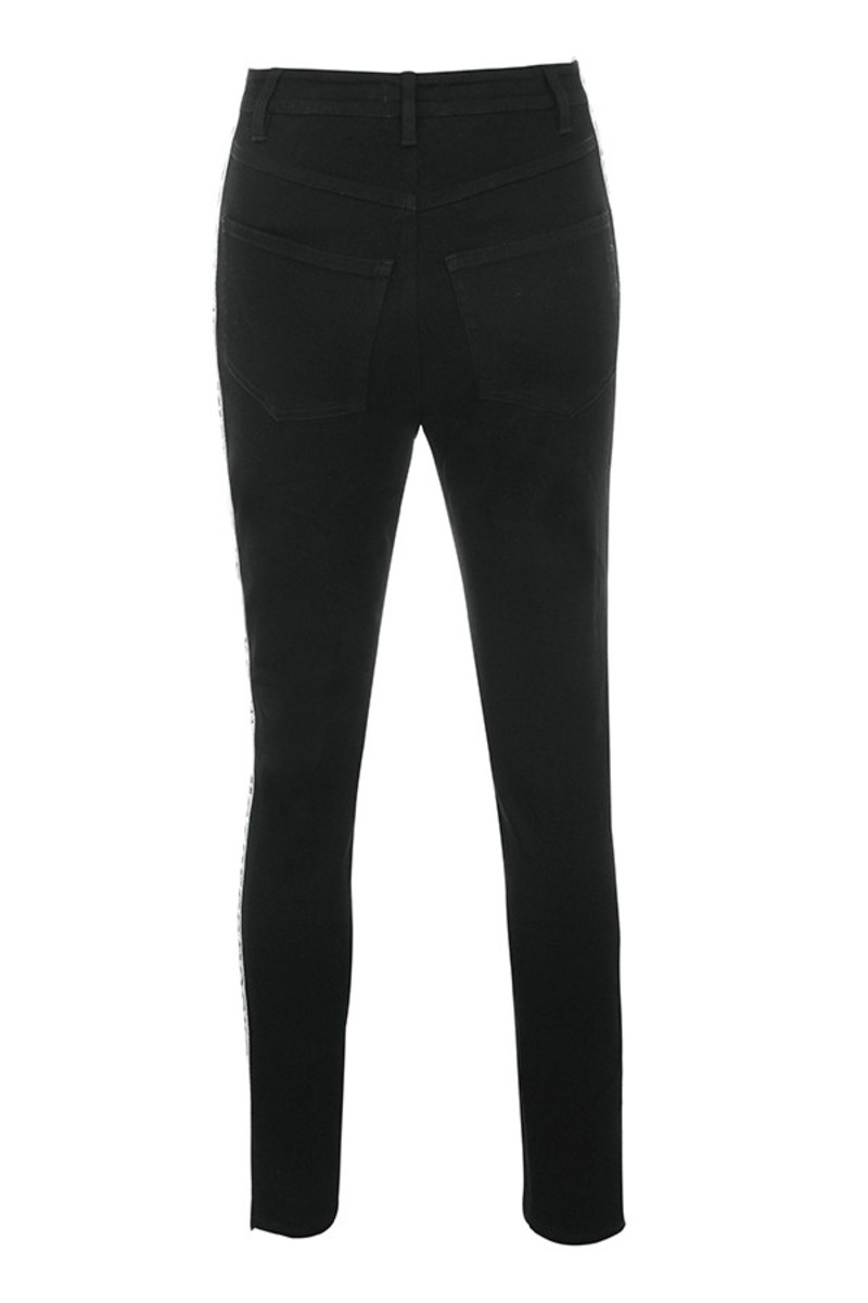 rumble jeans in black