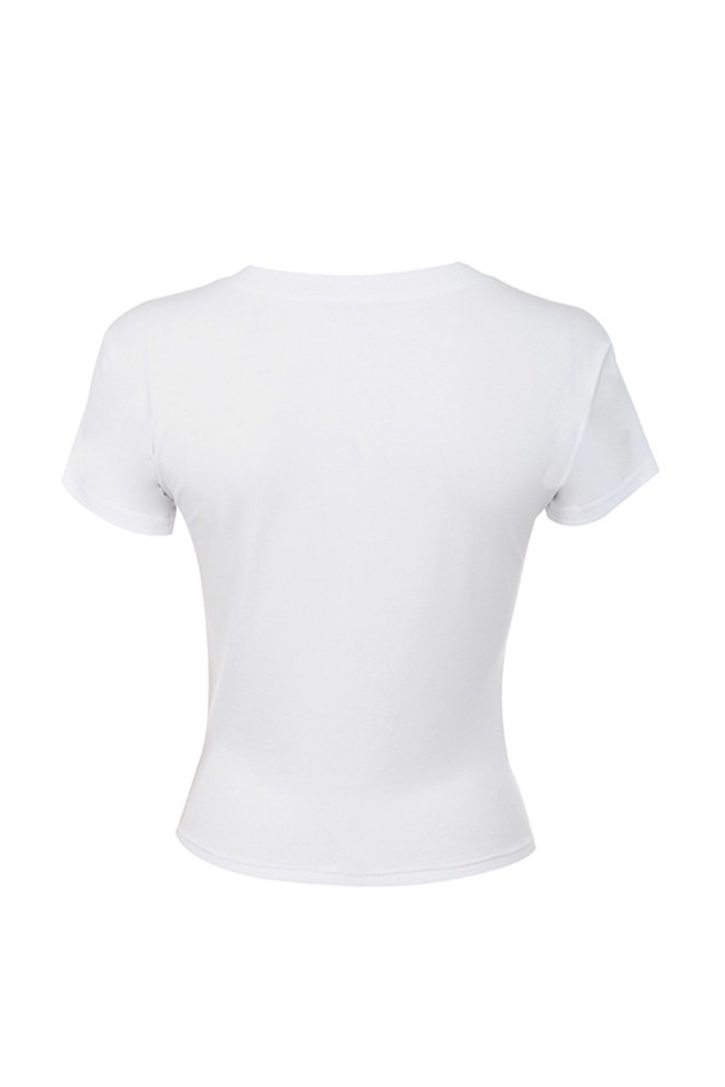tactile top in white