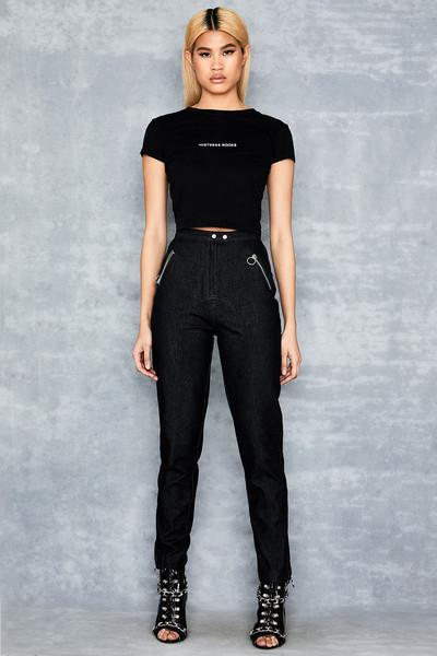 Truth Black Snow Bleached Denim Jeans