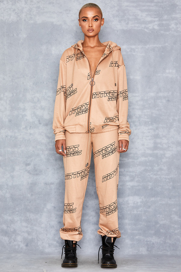 One Way Camel Logo Sweatpants