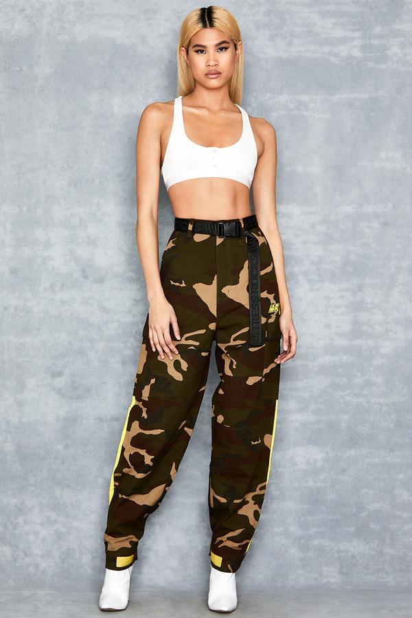Mash Neon Camouflage Cargo Pants