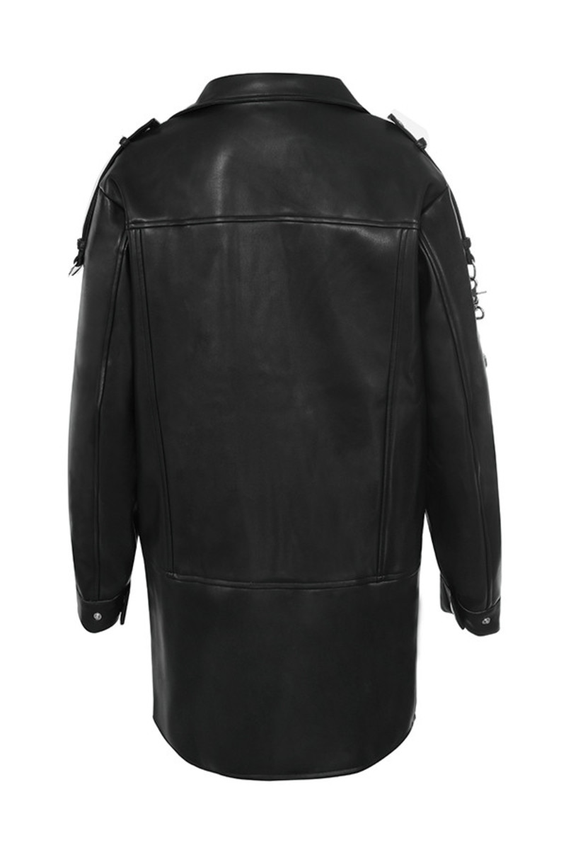 acquire jacket in black