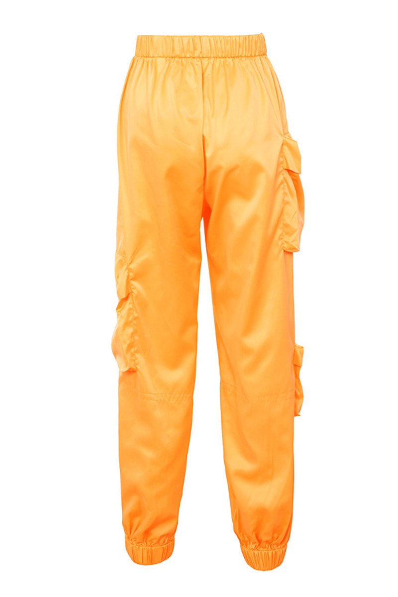 bandit trousers in orange
