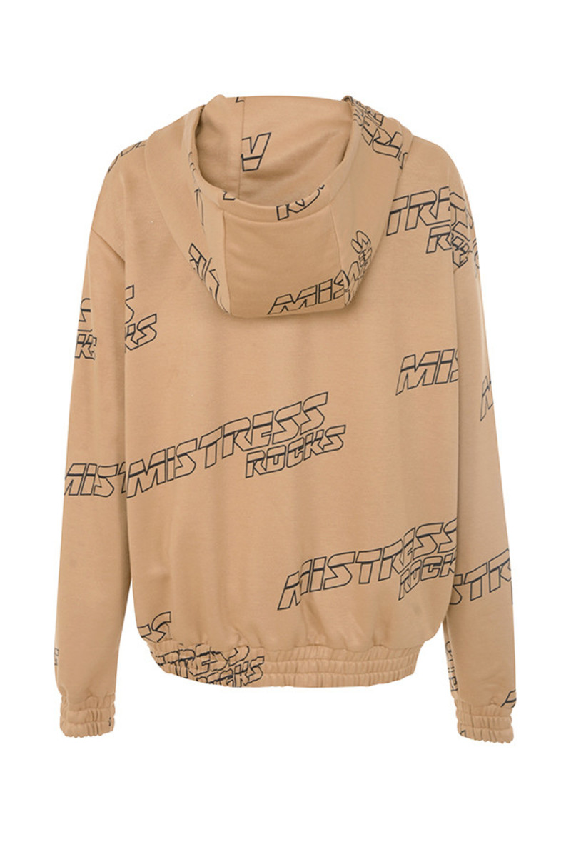 break up jacket in tan