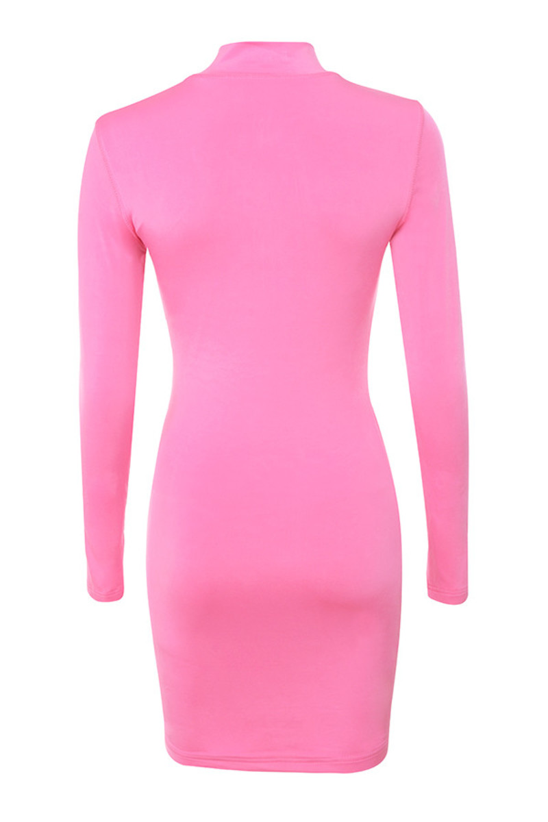 candy girl dress in pink