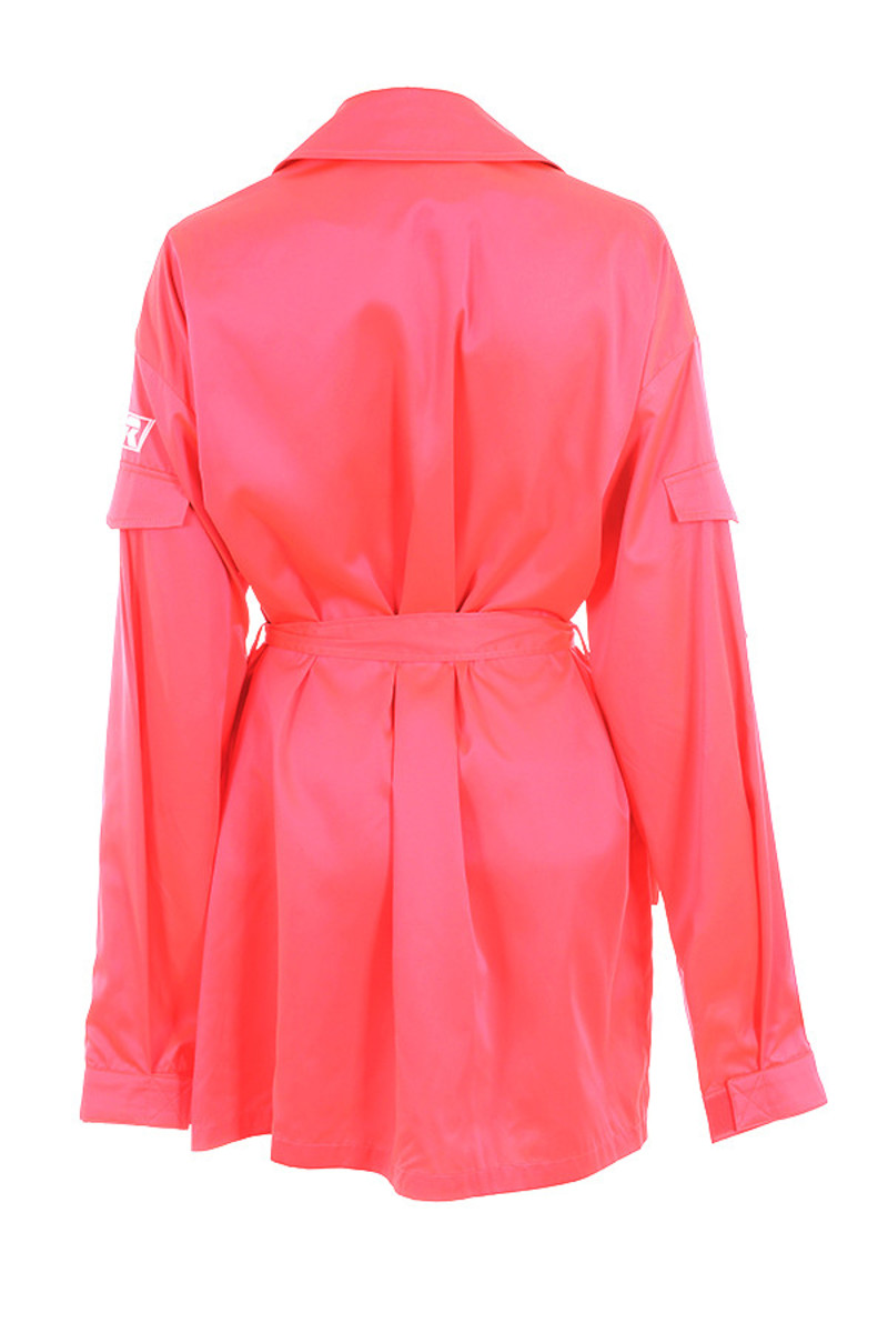 craziness jacket in coral