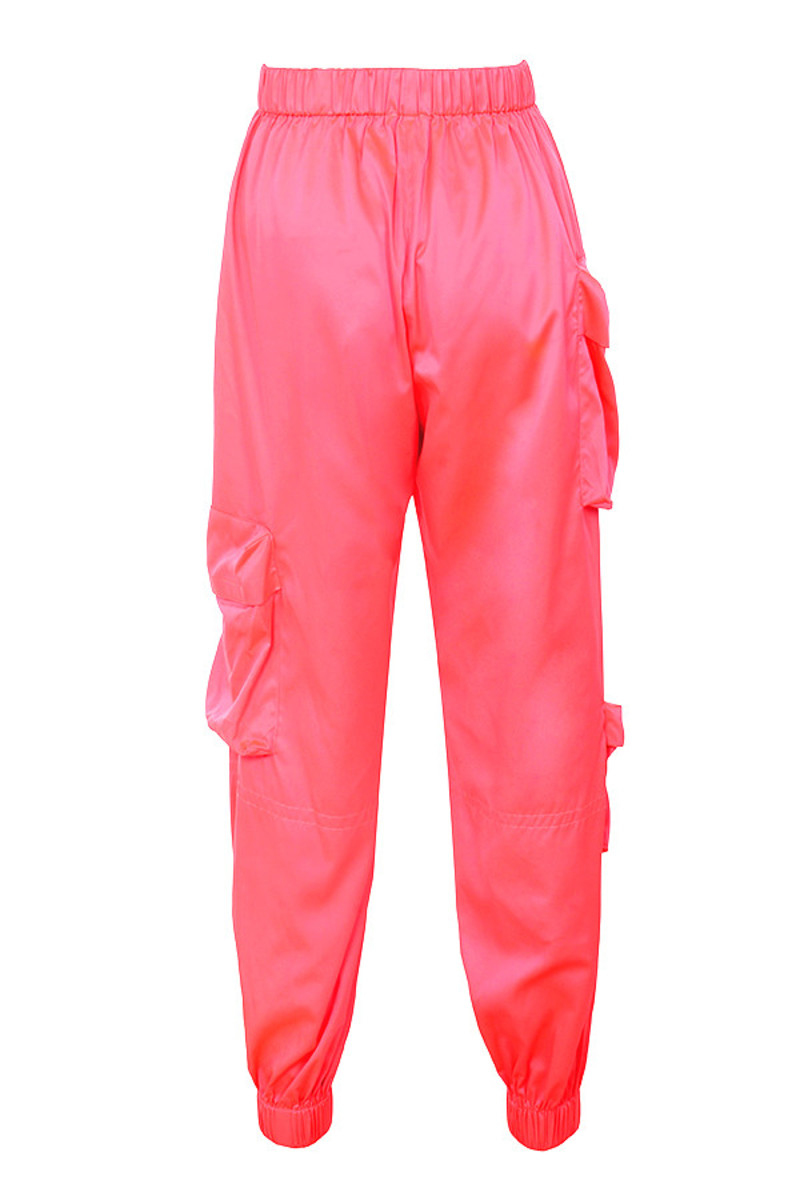 bandit trousers in coral