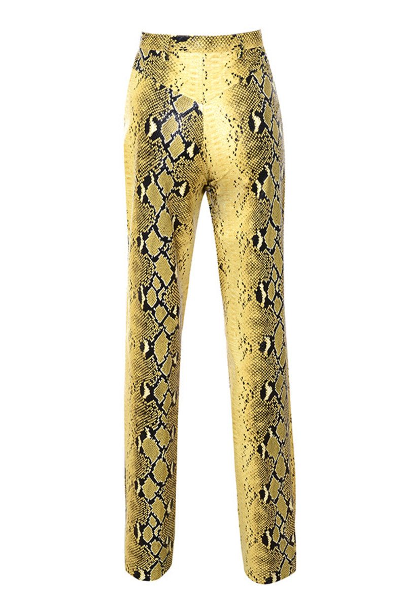 flicker pants in snake