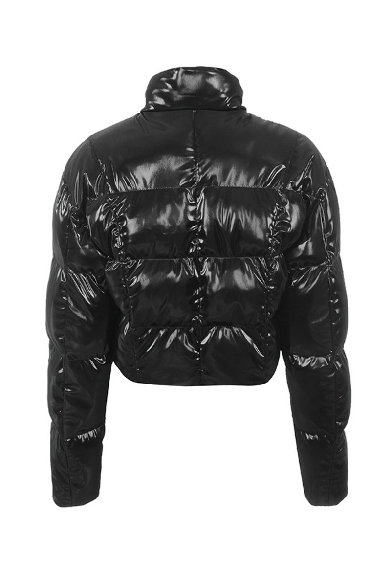 grafting jacket in black