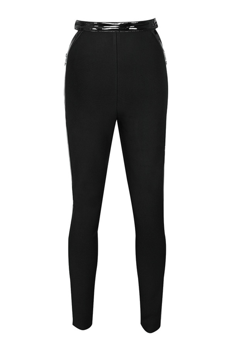 inflitrate trousers in black