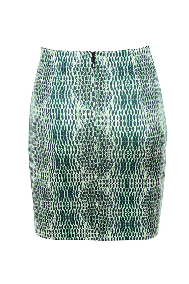 limitless skirt in print