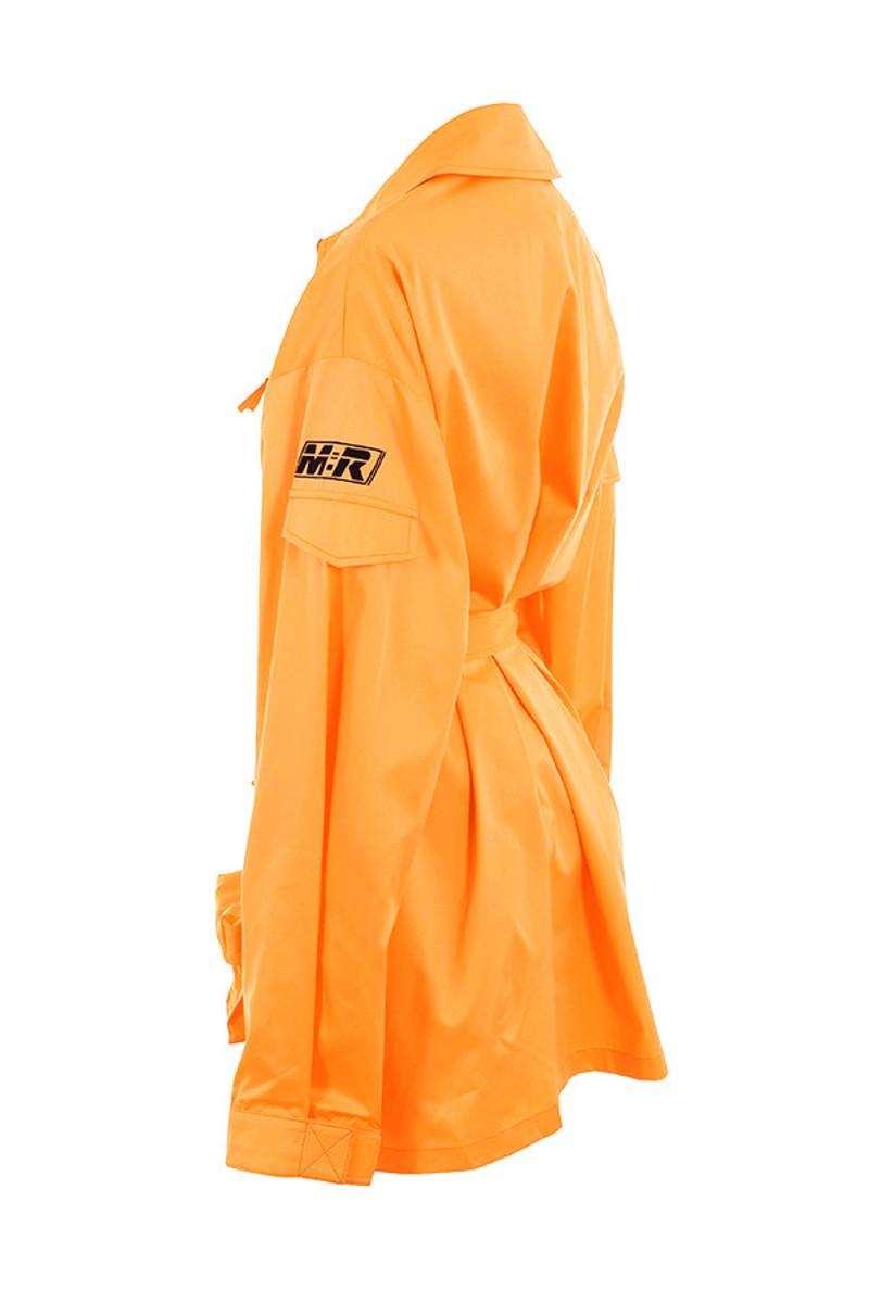 opening in orange