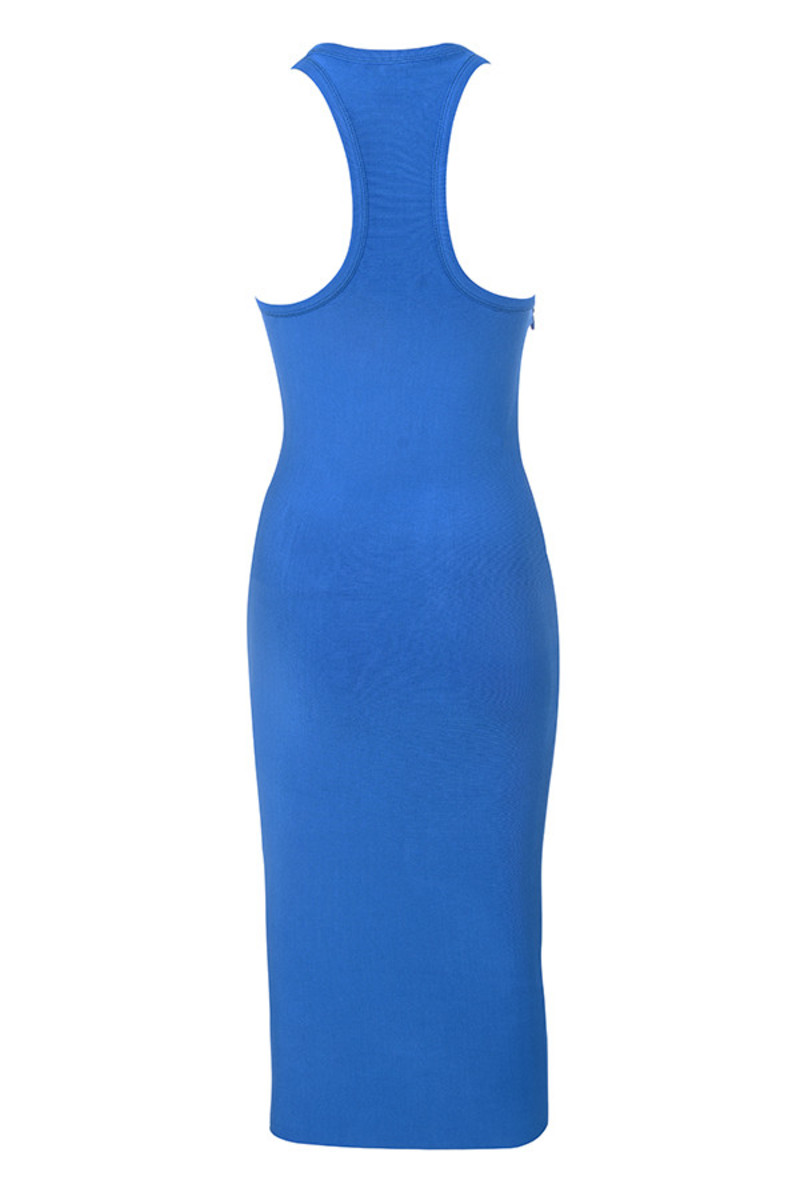 paradise dress in blue