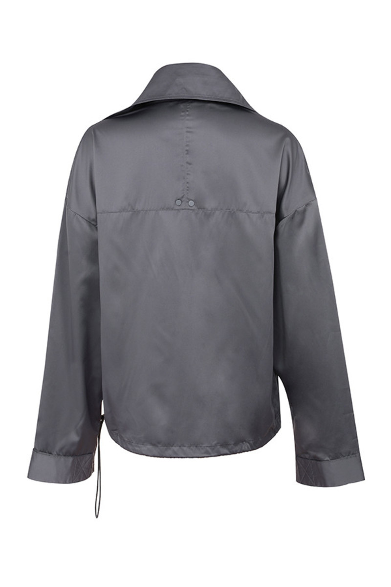raid jacket in grey